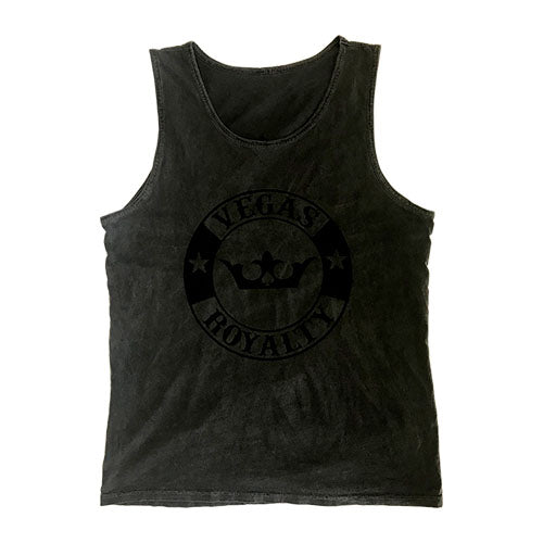 Vegas Royalty Inspired Dye Tank Top