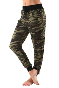 Vegas Royalty Ladies Camo Print Pants