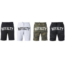 Load image into Gallery viewer, Vegas Royalty 'ROYALTY' Unisex Fleece Shorts