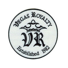 "Vegas Royalty 4"" Embroidered Patch"