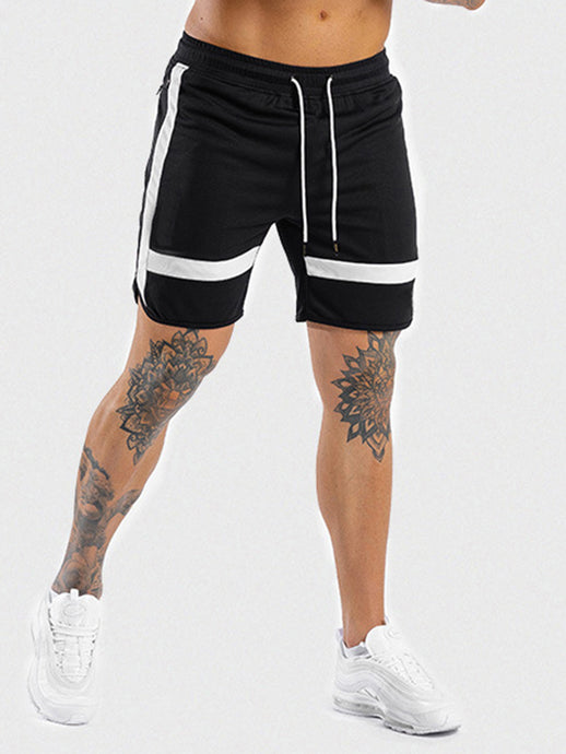 Vegas Royalty Men's Summer Contrast Seamless Training Shorts