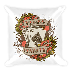 VR Royal Flush Square Pillow