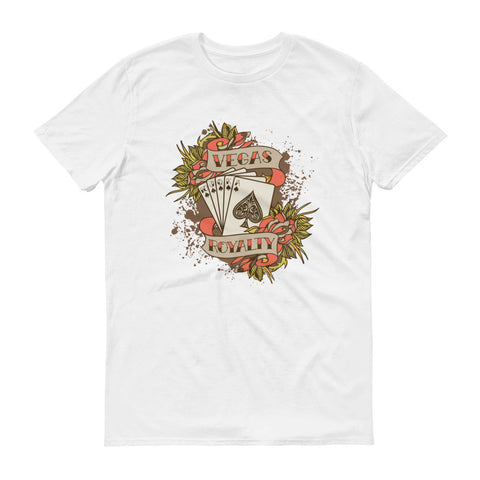 VR Royal Flush Short sleeve t-shirt