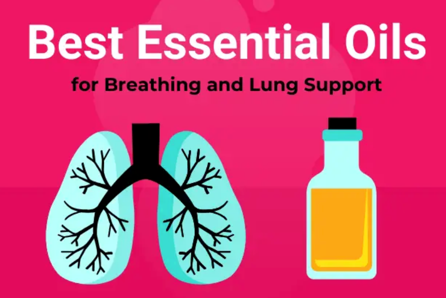 Best Essential Oils for Breathing & Support