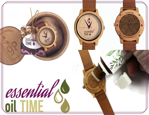 Essential il Diffuser Watch for Aromatherapy