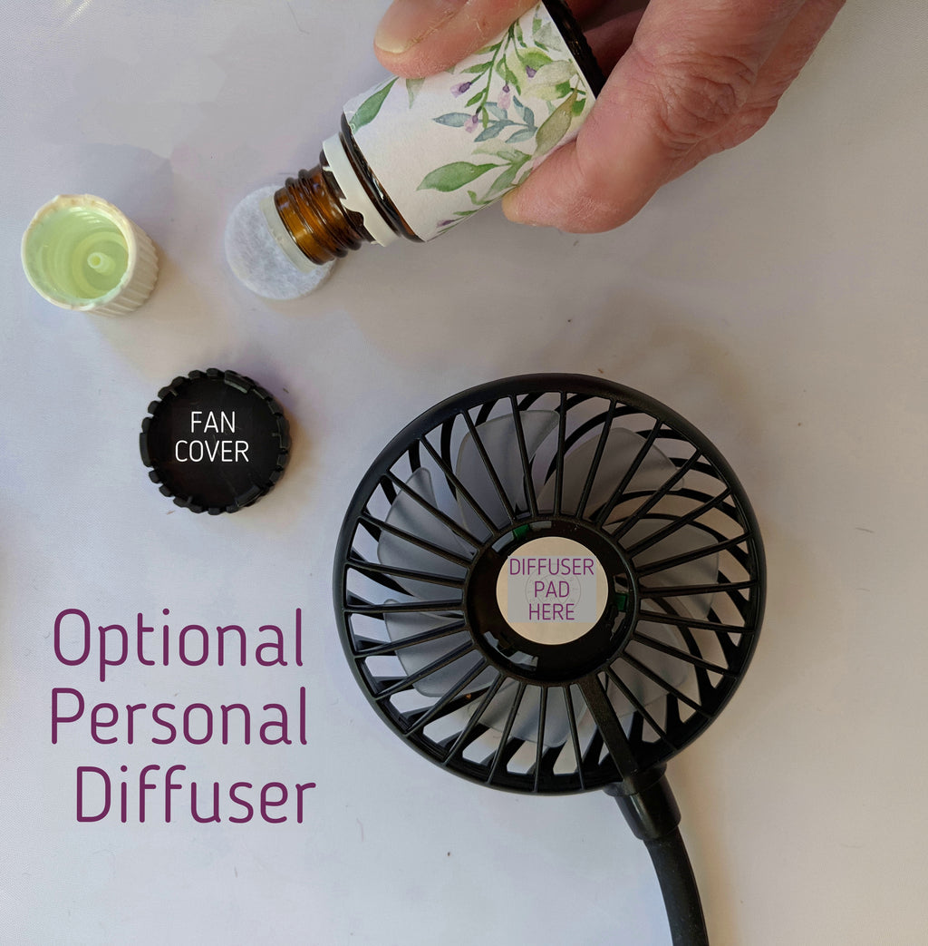 20 Organic Fan Diffuser Pads - Essential Gear Products