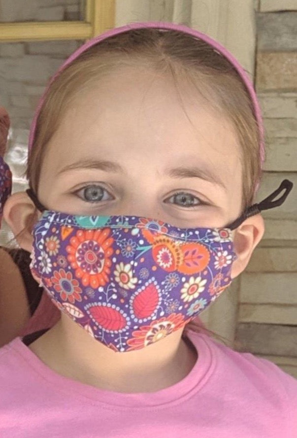 Paisley Mask for Kids - Essential Gear Products