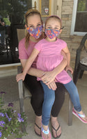Mother & Daughter Matching Face Coverings