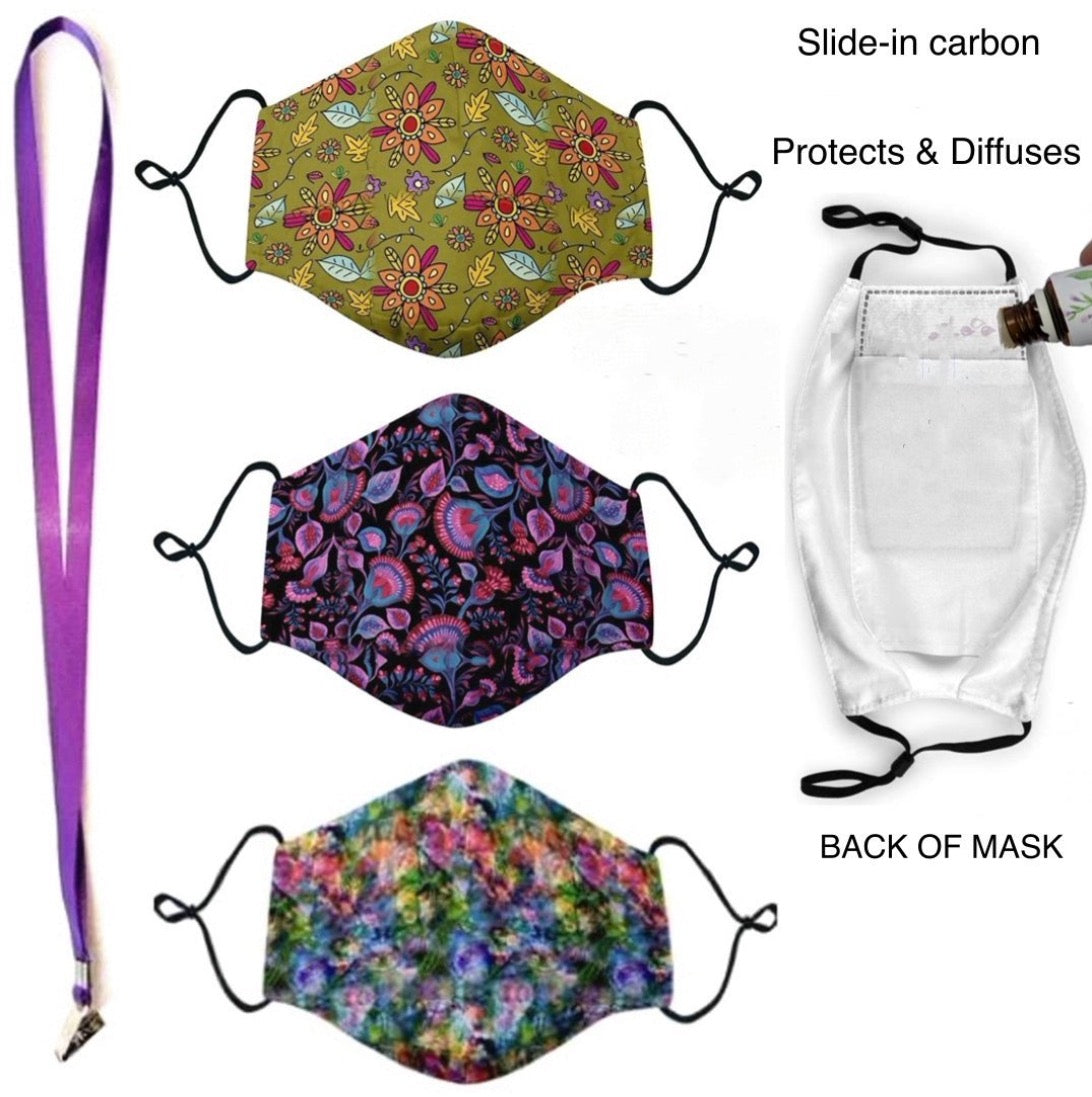 Bundle of Flowers - Masks with Filters - Essential Gear Products
