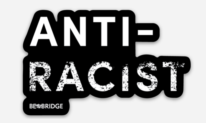 Anti-Racist Decal