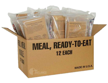 DELUXE FIELD RATIONS (MRE)