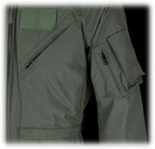 Military Coveralls / 27-P Flight Suit  [FNS/PD 96-17-MIL-C-23141A]