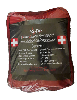AS-FAK [Active Shooter First Aid Kit]