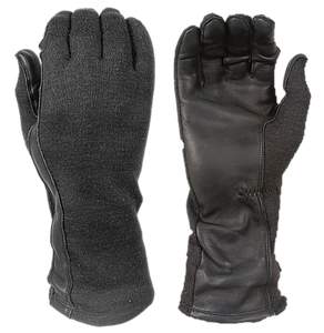 FIRE PROTECTIVE NOMEX/LEATHER FLIGHT GLOVES