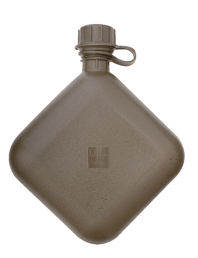 GI 2-QUART COLLAPSIBLE CANTEEN