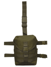 DLG-5S DROP LEG GAS MASK CARRIER