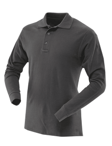 MEN'S LONG SLEEVE CLASSIC 100% COTTON POLO