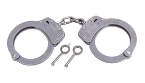 Model 103 Stainless Steel Handcuffs