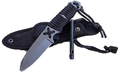 PARACORD SURVIVAL KNIFE COMPACT