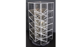 Rotating Clear Acrylic Display, 4 Sided
