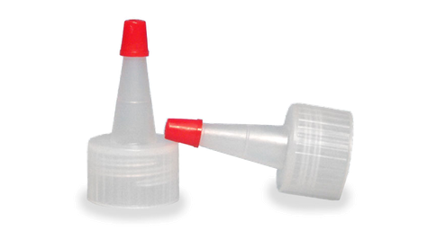 Plastic Red Tip Yorker Caps