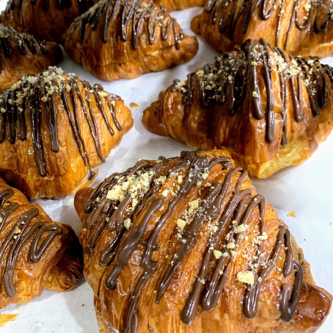 Hazelnut Chocolate Croissant (w/ nuts)