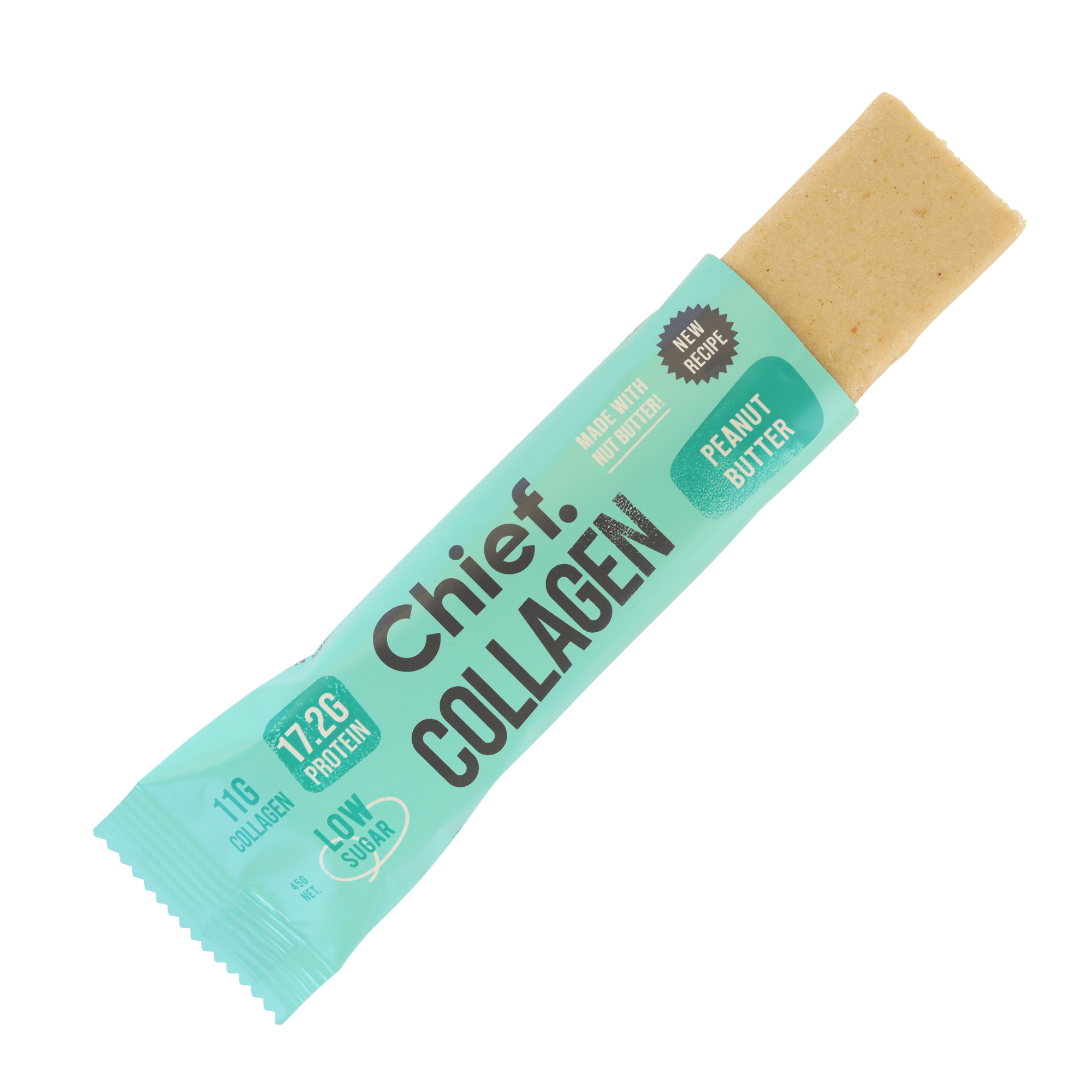 Chief Collagen Snack Bar - Peanut Butter