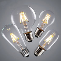 LED G80 E27 4W Dimmable Globe Industrial Vintage Bulb - Vintagelite