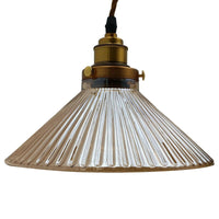 Style Glass Shade Lamp Ceiling Retro Pendant Lighting - Vintagelite