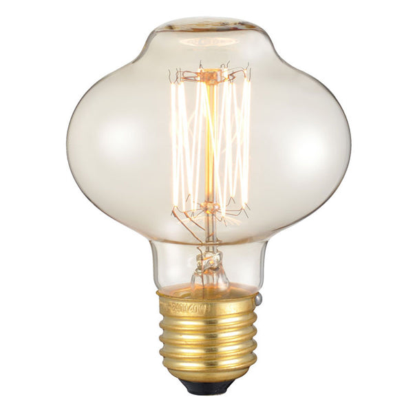 Dimmable Mushroom E27 60W Industrial Vintage Filament Bulb - Vintagelite