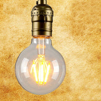 LED G80 B22 6W Dimmable Globe Industrial Vintage Bulb - Vintagelite