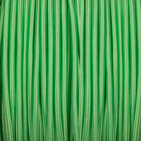 Vintage Light Green Fabric 3 Core Round Italian Braided Cable 0.75mm - Vintagelite