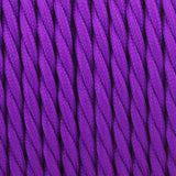 Vintage Purple Twisted Vintage fabric Cable Flex 0.75mm 3 Core - Vintagelite