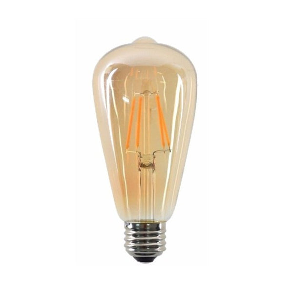 LED ST64 E27 4W Dimmable Globe Industrial Vintage Bulb - Vintagelite