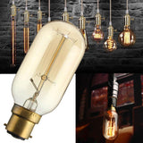 Pack of 6 B22 T45 60W Dimmable Filament  Incandescent Vintage Light Bulbs - Vintagelite