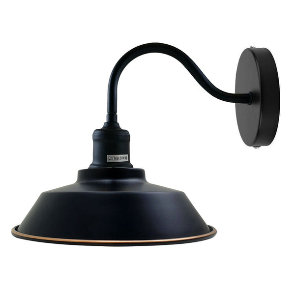 Black Gold Line Wall Mounted Light Wall Sconces Lamp