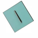 Blue Glossy 1 Gang Screw less Wall Light Switch - Vintagelite