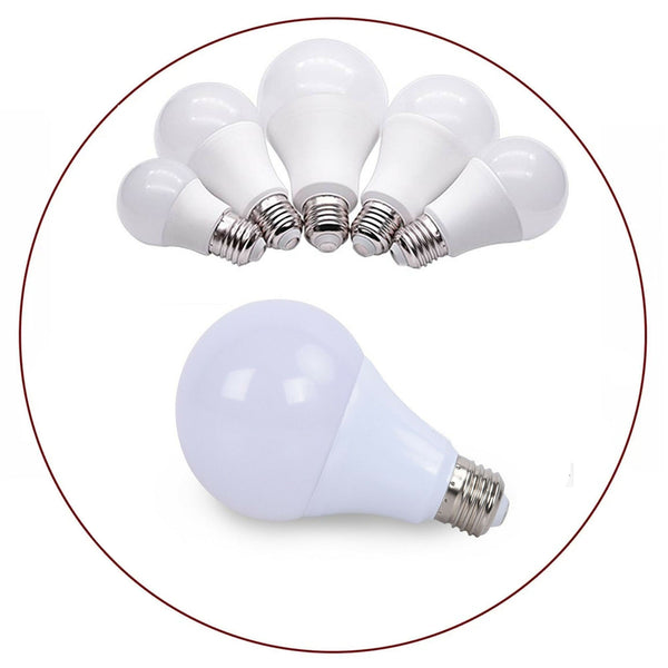 Cool White Lamp Light Bulbs GLS A60 E27 - 3w - 25w - LED Globe Light Bulbs