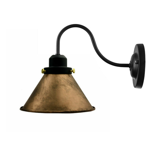 Wall Sconces Brushed Copper Vintage Lamp Shade - Vintagelite