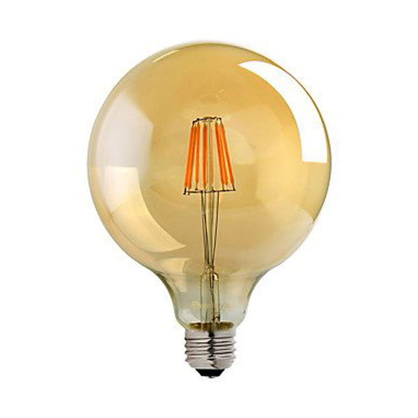 LED G125 E27 8W Dimmable Globe Industrial Vintage Bulb - Vintagelite