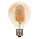 LED G95 E27 4W Dimmable Globe Industrial Vintage Bulb - Vintagelite