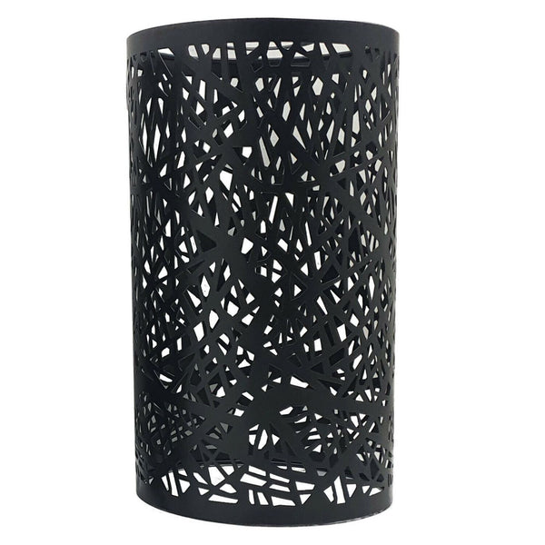 Modern Drum Lampshade Black Colour Retro Style - Vintagelite