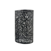 Modern Drum Lampshade Brushed Silver Colour Retro Style - Vintagelite