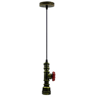 Water Pipe Industrial Vintage Style Ceiling Pendant Light - Vintagelite