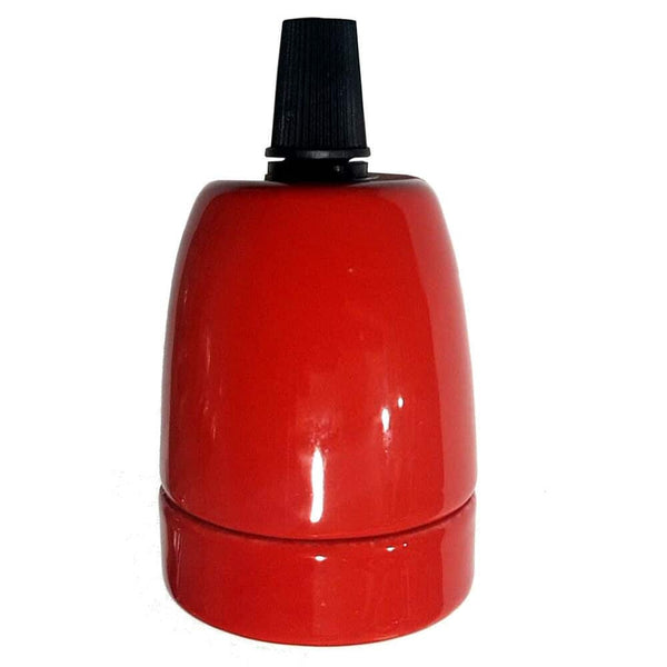E27-Red-Porcelain-Lamp-Holder