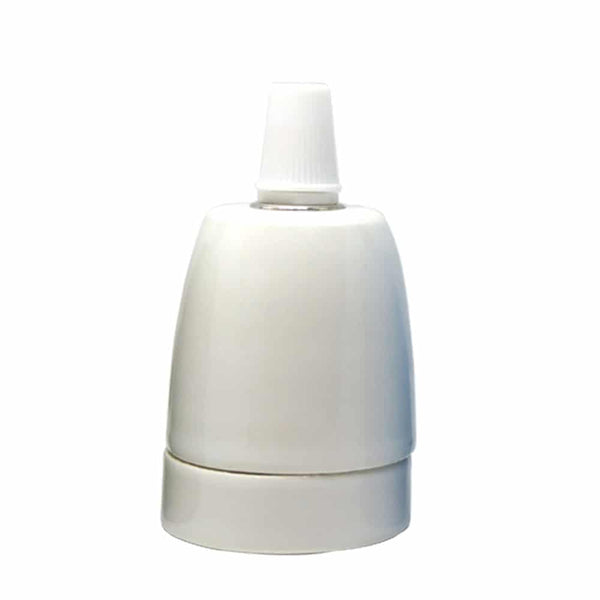 E27-White-Porcelain-Lamp-Holder