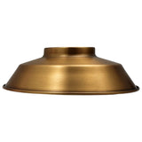 Retro Barn Light Shades Modern Ceiling Pendant Lampshades Metal Various Colours - Vintagelite