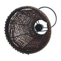 Rattan Pendant Shade Fits Existing Standard Pendant Lounge Bedroom Kitchen