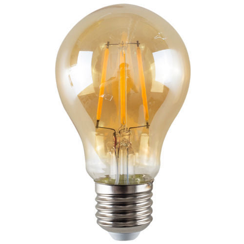 LED A60 E27 4W Dimmable Globe Industrial Vintage Bulb - Vintagelite