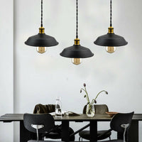 Pack of 3 Iron Vintage Retro Ceiling Pendant Lamp Shade Industrial Loft Chandelier(without Bulb) - Vintagelite